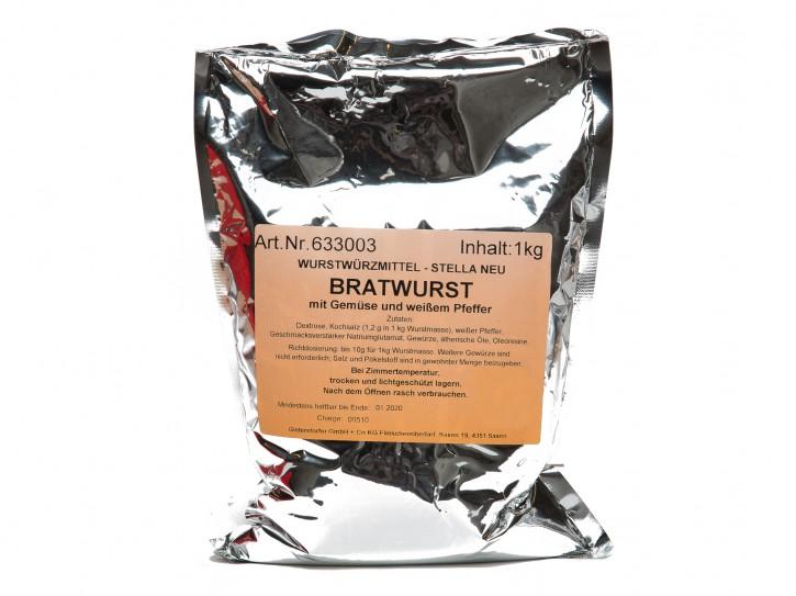 STELLA Wurstgewürz für BRATWURST 1kg