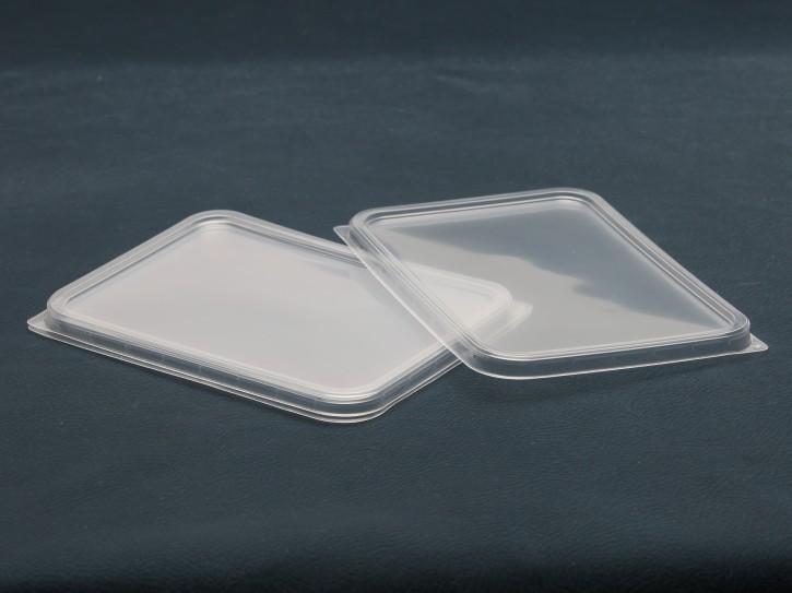 Deckel für Viereck-Schalen 50Stück