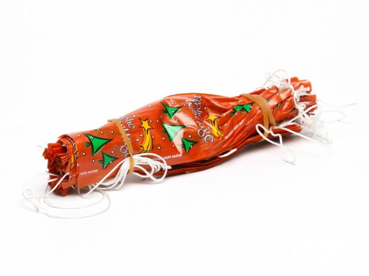 Faser-Darm 45/25 amber Frohe Weihnacht 25Stück