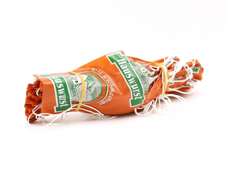 Faser-Darm 65/25 amber Hauswurst 25Stück