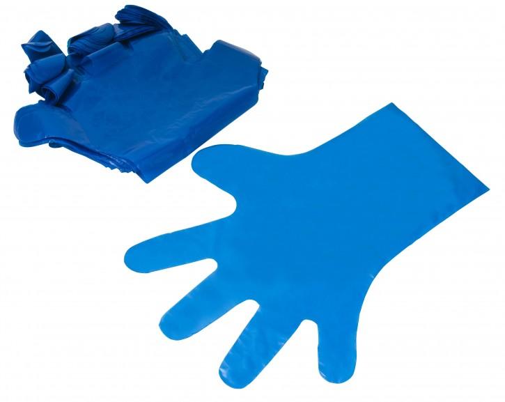 HYGENIA - Polyhandschuhe blau reißfest 37cm 100Stück