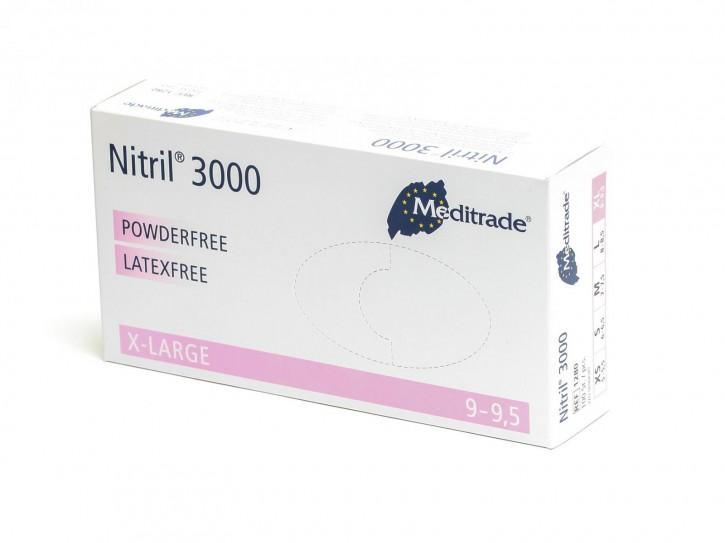 Nitril - Einweghandschuhe Gr. XL
