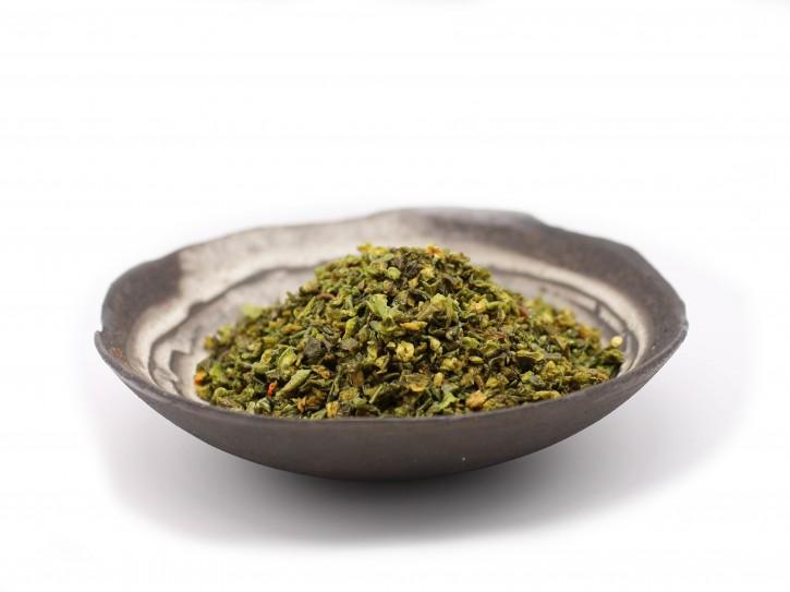 Paprikaflocken grün