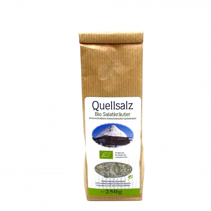 Quellsalz mit Bio Salatkräuter 250g