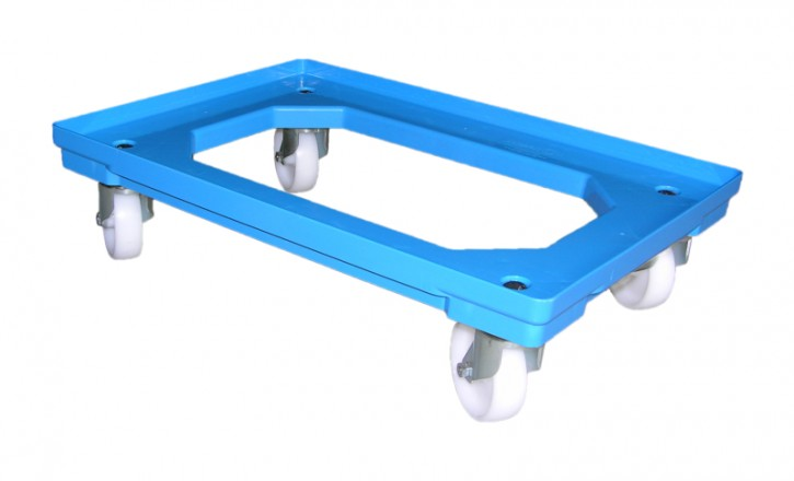 Roller aus Kunststoff - Farbe BLAU