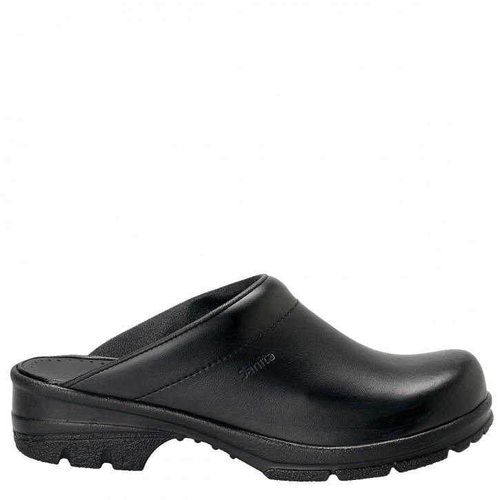 Clogs San Duty offen schwarz Größe 45