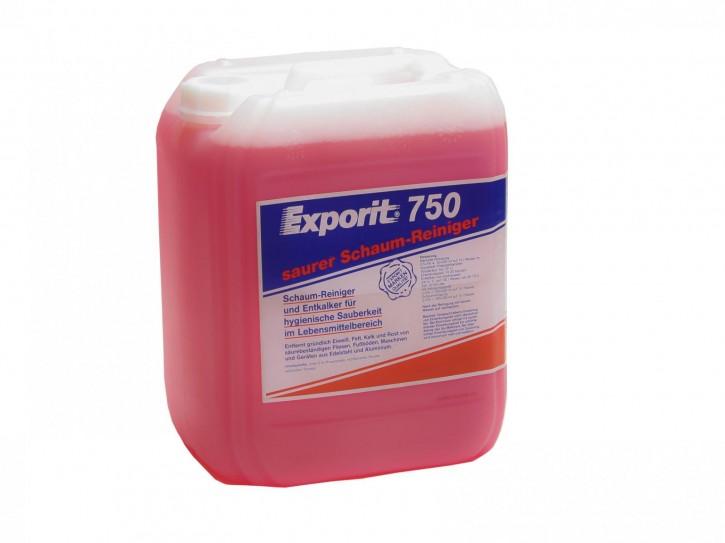 Exporit 750 - Saurer Schaum-Reiniger
