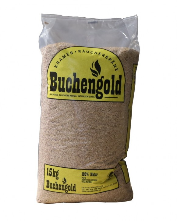 "Selchhackgut  ""Buchengold"" Buchenholz Fein"