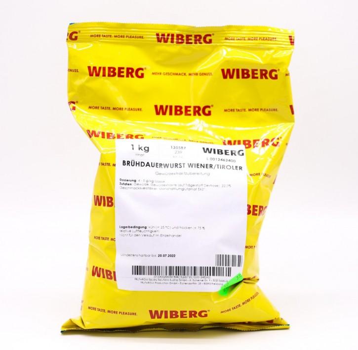Brühdauerwurst Wiener/Tiroler 1kg